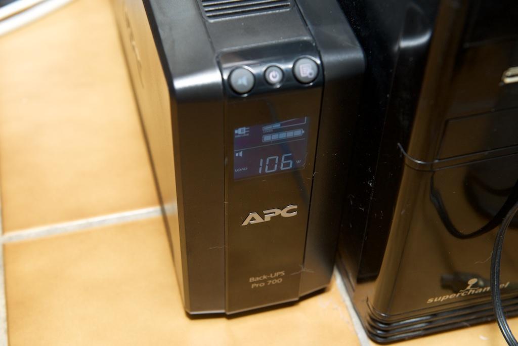 APC BACK UPS 700 輸出瓦數